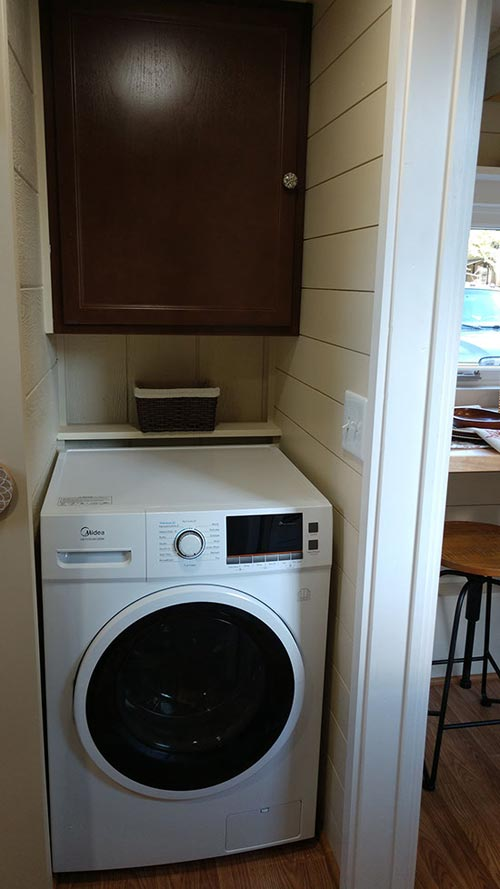Laundry Area - Sparrow by Blue Sky Tiny Homes