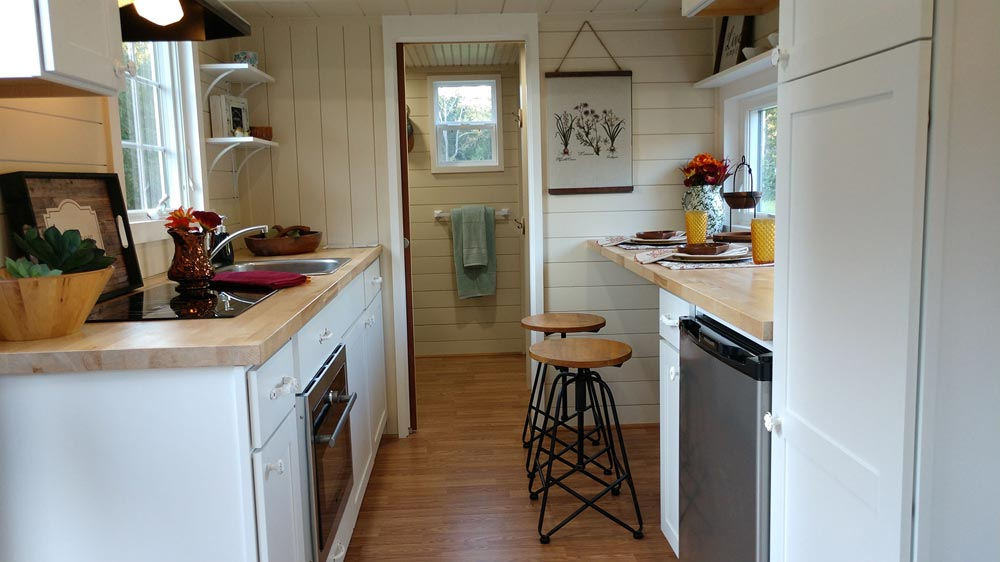 Galley Kitchen - Sparrow by Blue Sky Tiny Homes