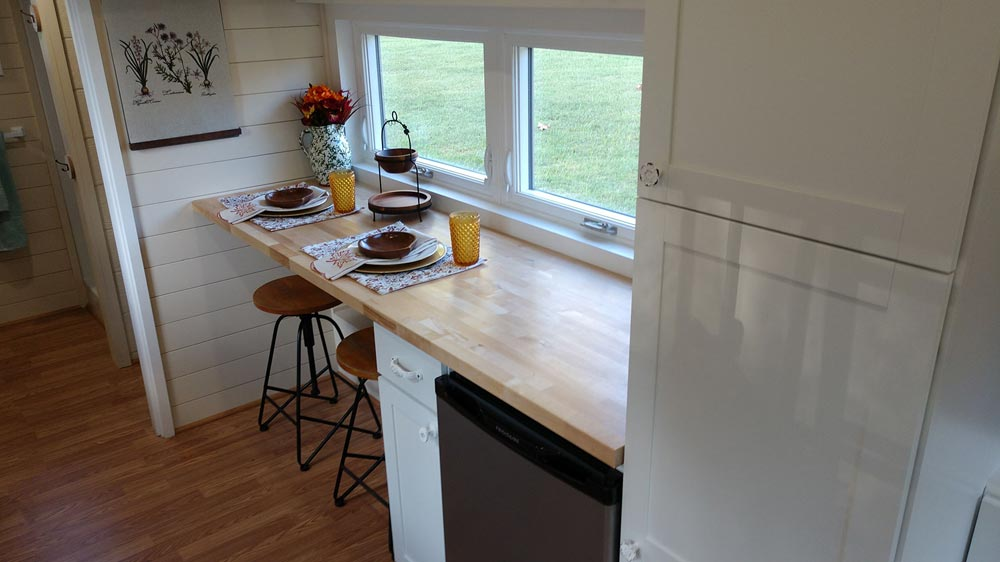 Dining Area - Sparrow by Blue Sky Tiny Homes