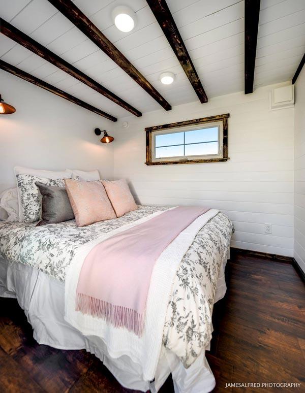 Main Floor Bedroom - Custom 34' by Mint Tiny Homes