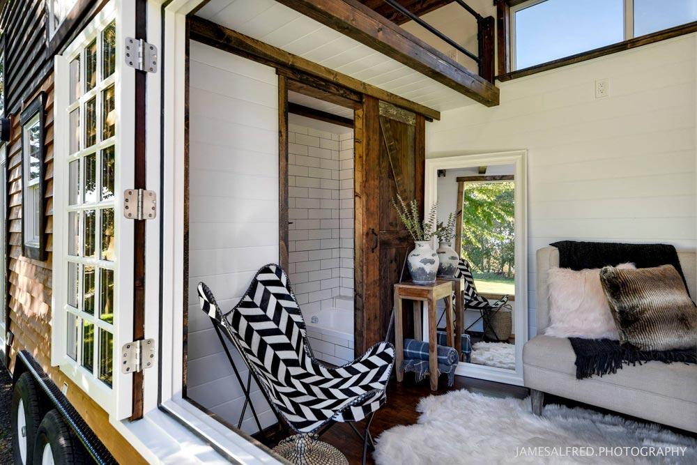Casement Window - Custom 34' by Mint Tiny Homes