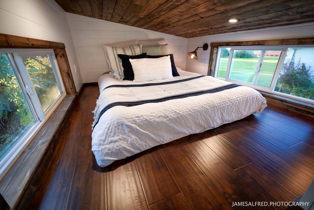 Bedroom Loft - Custom 34' by Mint Tiny Homes