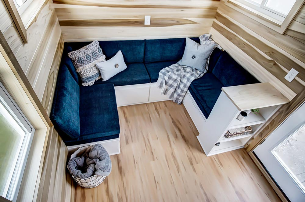 Built-In Couch - Hatteras by Modern Tiny Living