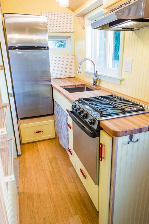 Kitchen Appliances - KerriJo's Tiny House by MitchCraft Tiny Homes