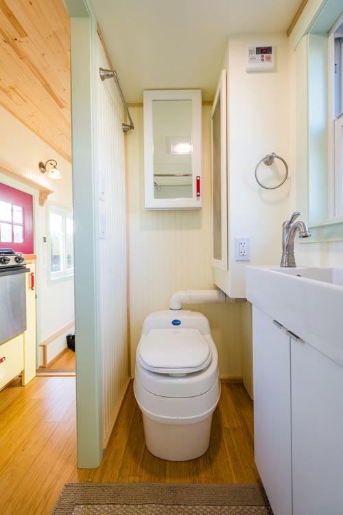 Bathroom - KerriJo's Tiny House by MitchCraft Tiny Homes