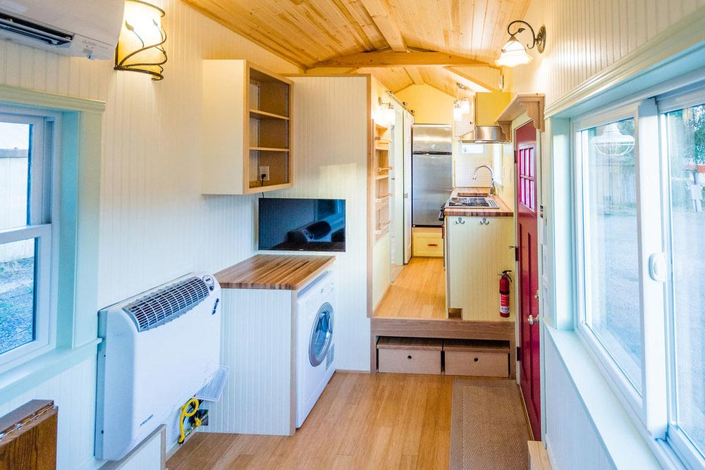 Direct Vent Propane Heater - KerriJo's Tiny House by MitchCraft Tiny Homes