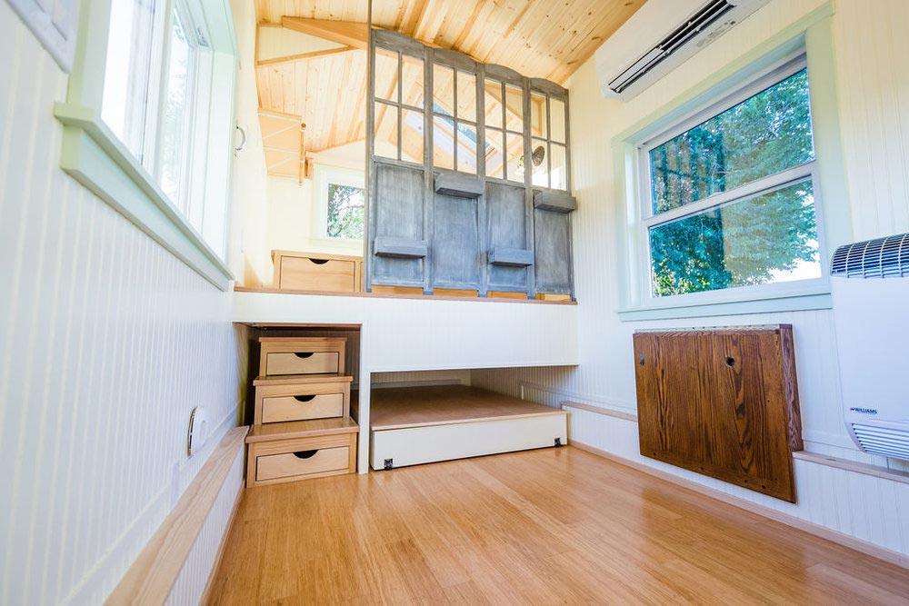 Main Living Area - KerriJo's Tiny House by MitchCraft Tiny Homes