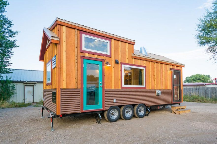 Laura's Tiny House by MitchCraft Tiny Homes