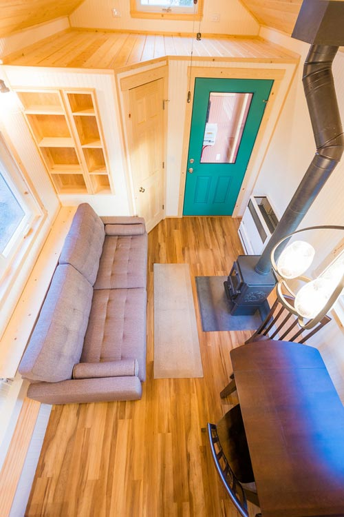 Aerial View - Laura's Tiny House by MitchCraft Tiny Homes