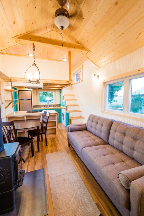 Interior View - Laura's Tiny House by MitchCraft Tiny Homes