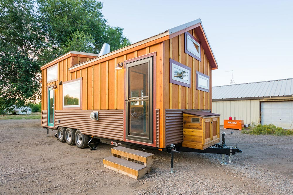 Exterior View - Laura's Tiny House by MitchCraft Tiny Homes