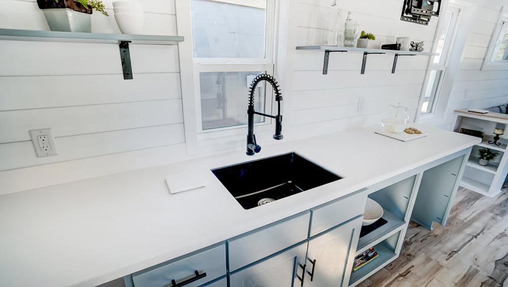 Kitchen Sink - Ocracoke by Modern Tiny Living