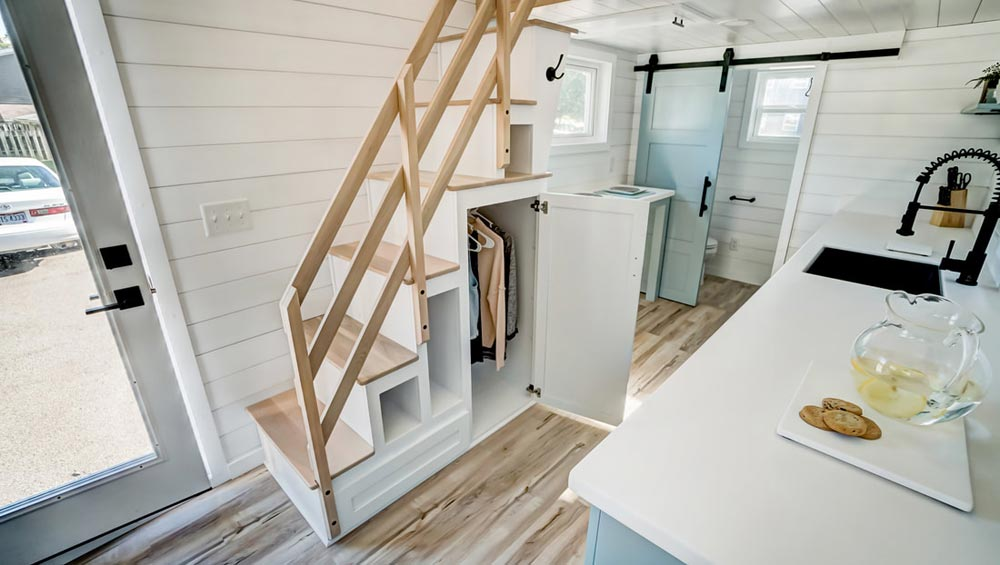 Storage Staircase - Ocracoke by Modern Tiny Living