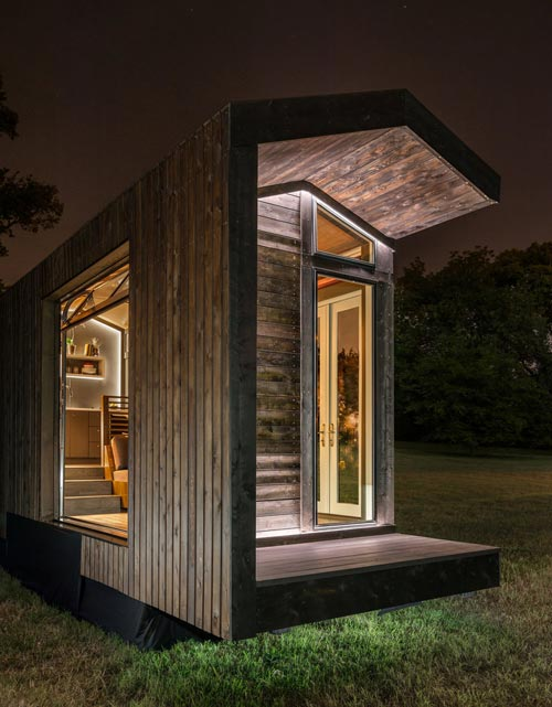Exterior View - Orchid by New Frontier Tiny Homes