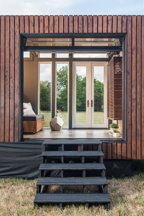 Garage Door - Orchid by New Frontier Tiny Homes