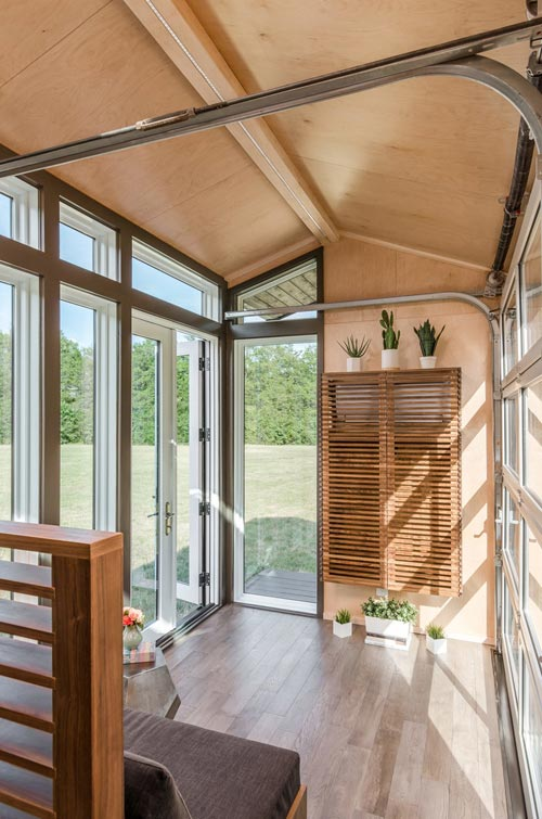 Large Windows - Orchid by New Frontier Tiny Homes