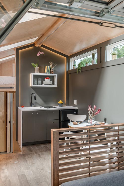 Raised Platform - Orchid by New Frontier Tiny Homes