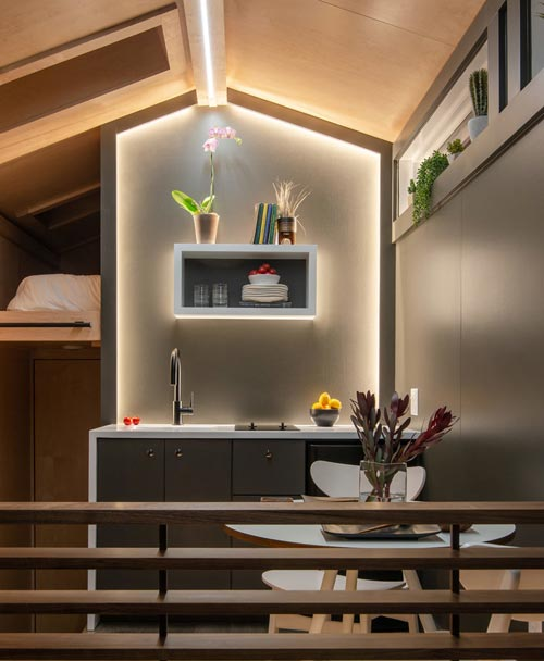 LED Lighting - Orchid by New Frontier Tiny Homes