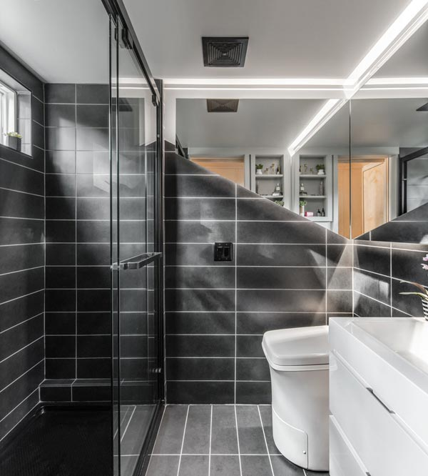 Luxurious Bathroom - Orchid by New Frontier Tiny Homes