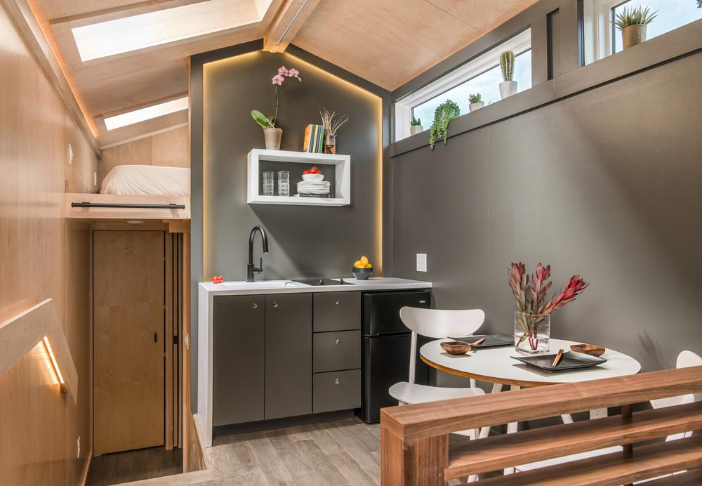 Kitchenette - Orchid by New Frontier Tiny Homes