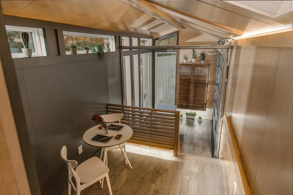 Dining Area - Orchid by New Frontier Tiny Homes