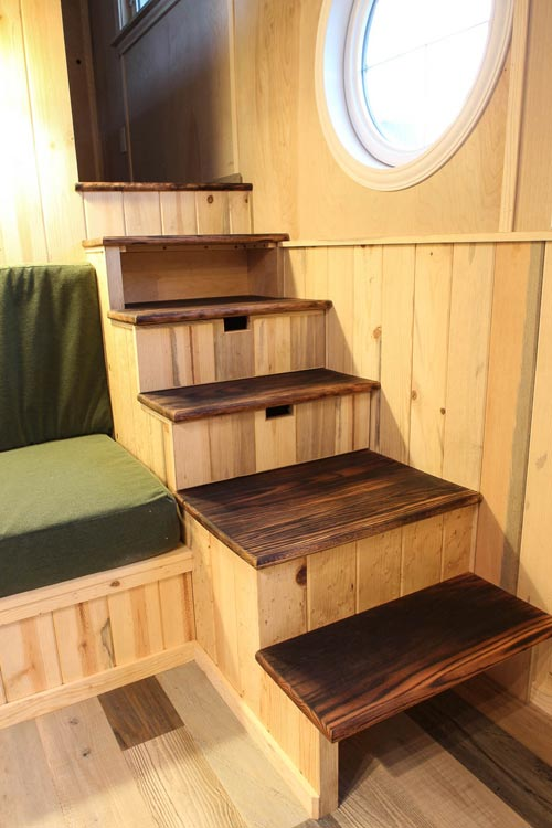 Storage Stairs - Santa Fe by SimBLISSity Tiny Homes