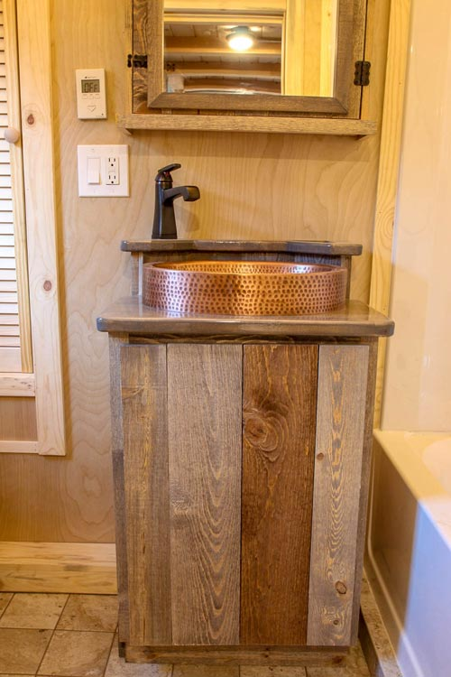 Custom Vanity - Santa Fe by SimBLISSity Tiny Homes