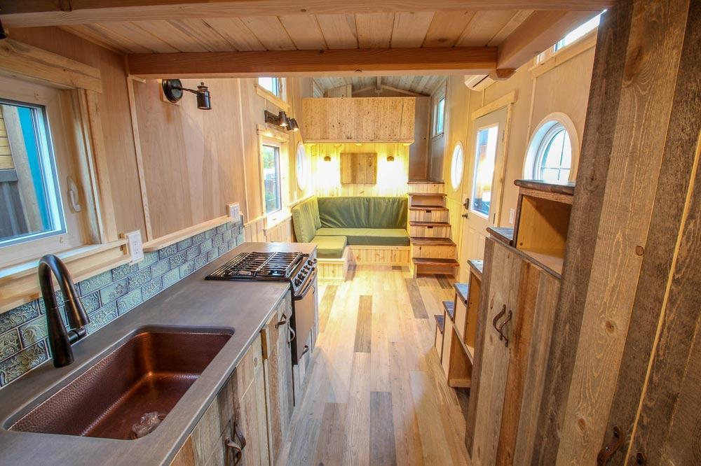 Luxury Vinyl Plank Flooring - Santa Fe by SimBLISSity Tiny Homes