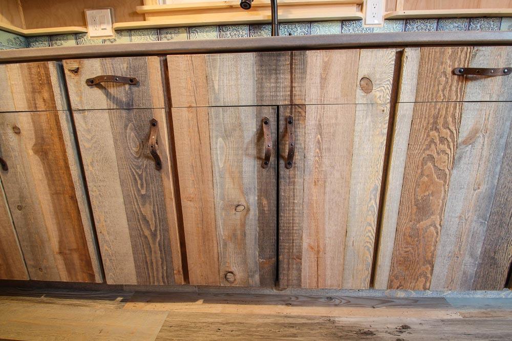 Rustic Cabinets - Santa Fe by SimBLISSity Tiny Homes