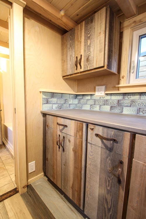 Custom Cabinets - Santa Fe by SimBLISSity Tiny Homes