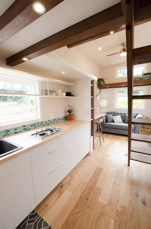 White Cabinetry - Stellar Jay by Rewild Homes