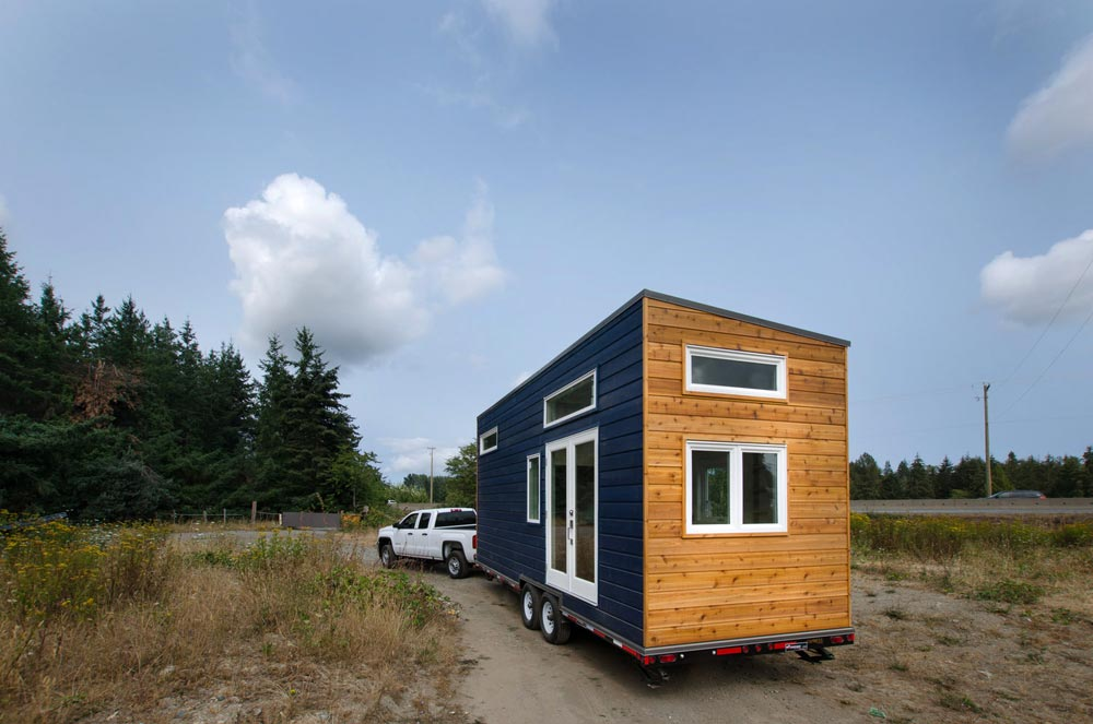 Two-Tone Exterior - Stellar Jay by Rewild Homes