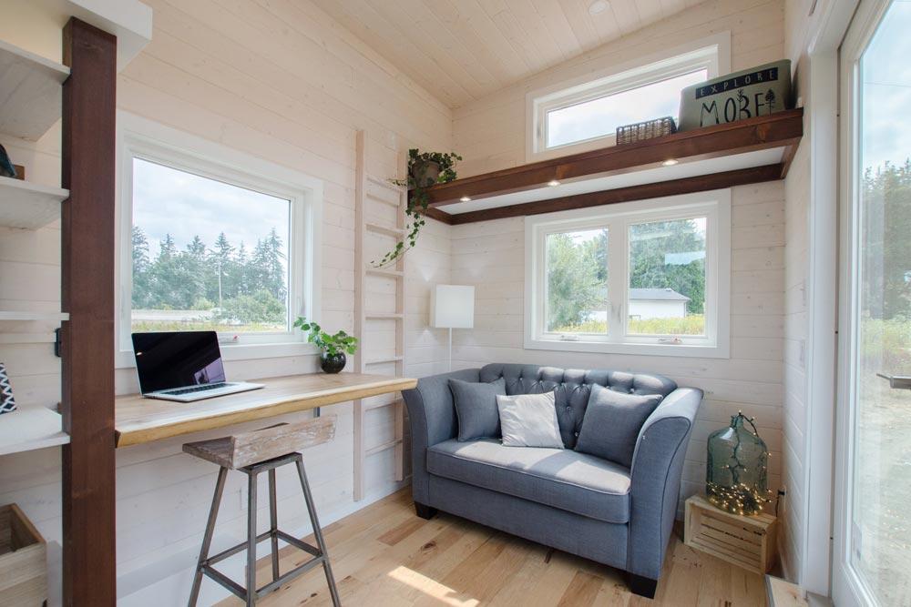 Live-Edge Desk - Stellar Jay by Rewild Homes