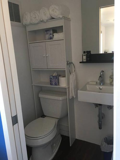 Bathroom - Temecula Wine Country Tiny Container Home