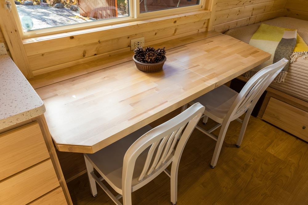 Butcher Block Table - Vista Boho by ESCAPE