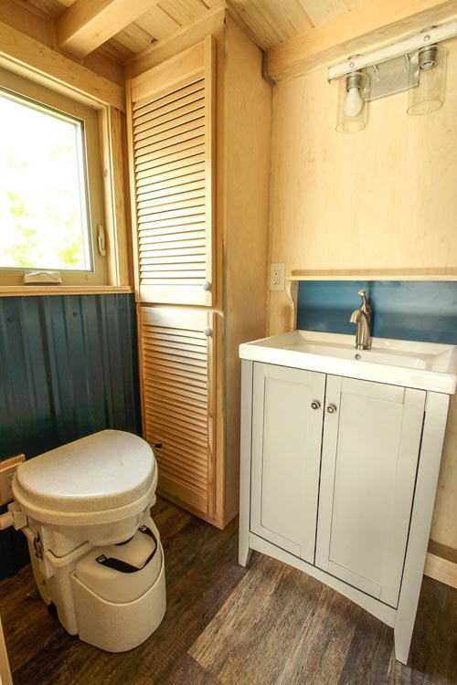 Bathroom - Ashley by SimBLISSity Tiny Homes