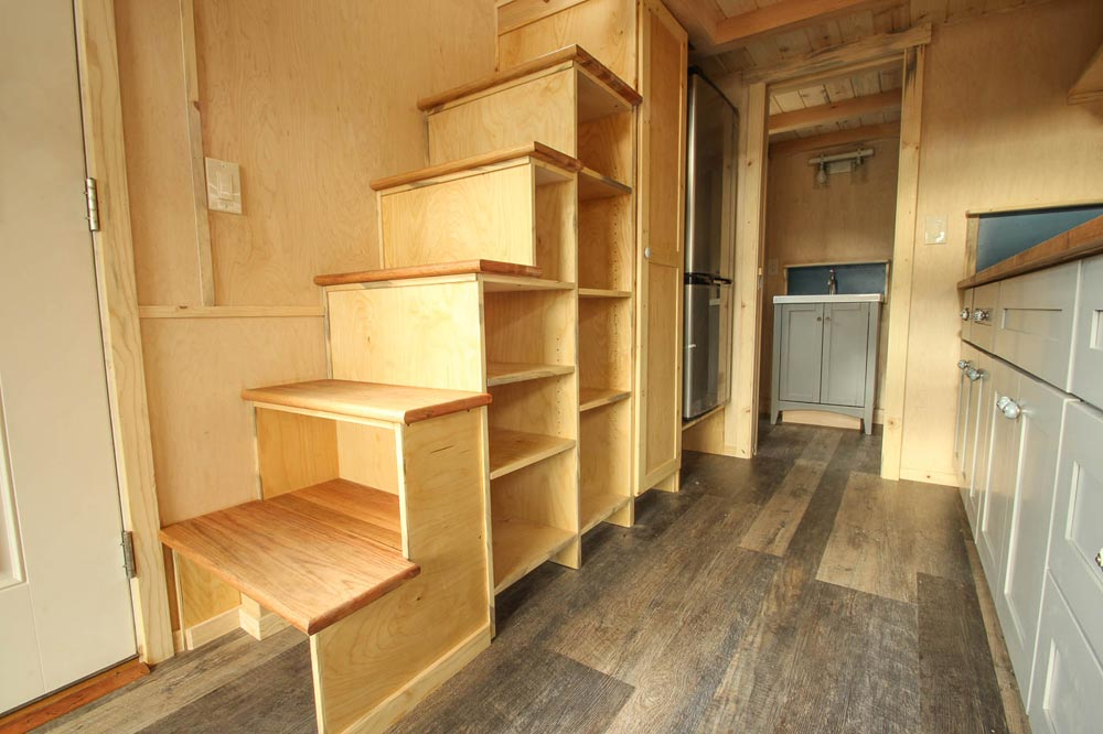 Storage Stairs - Ashley by SimBLISSity Tiny Homes