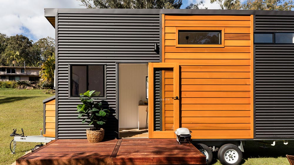 Modern Exterior - Coogee 7.2 by Aussie Tiny Houses