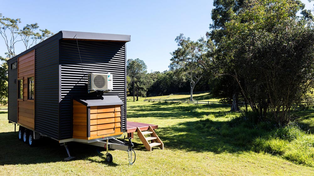 Exterior Storage - Coogee 7.2 by Aussie Tiny Houses
