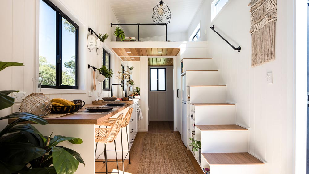 Galley Kitchen - Coogee 7.2 by Aussie Tiny Houses