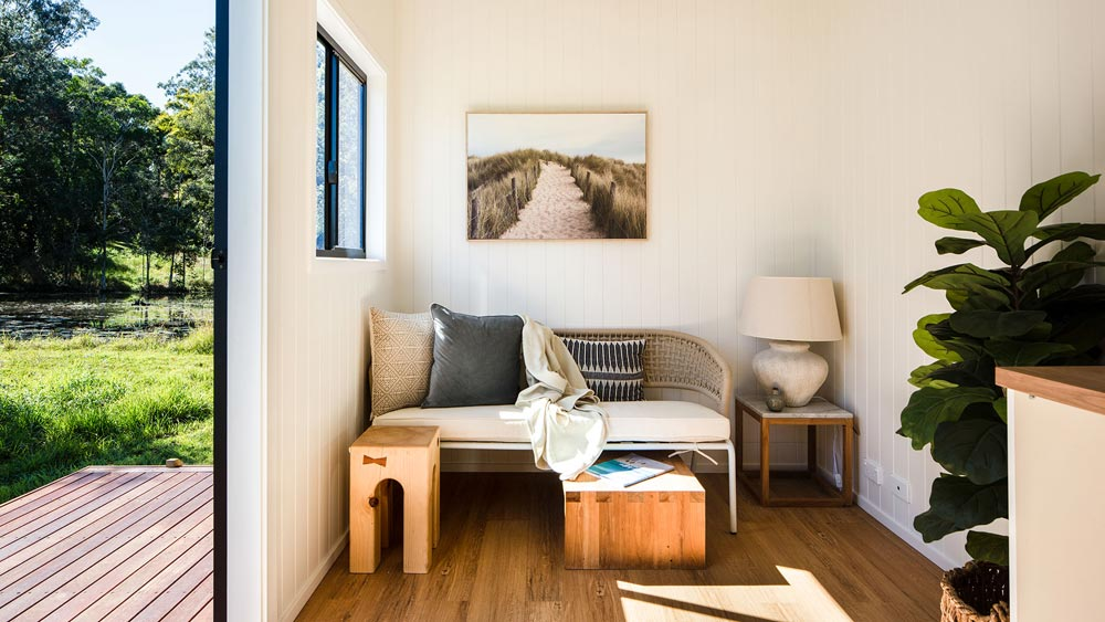Living Room - Coogee 7.2 by Aussie Tiny Houses