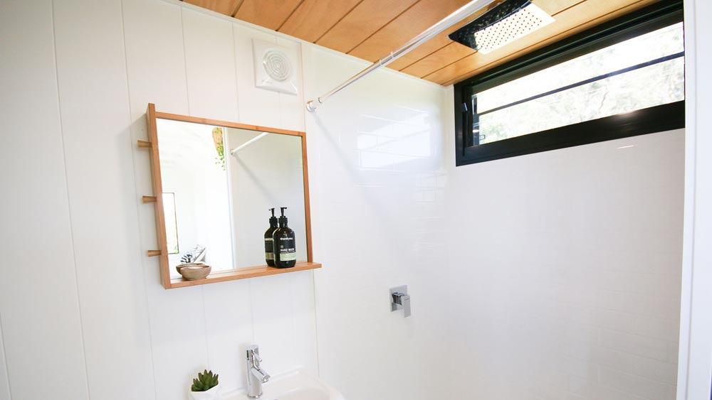 Shower - Coolum 7.2 by Aussie Tiny Houses