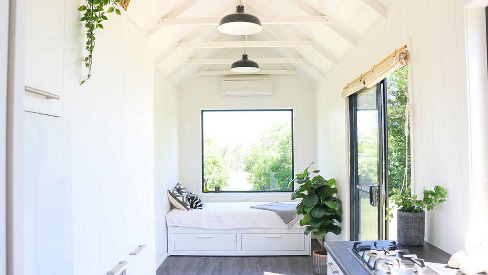 Living Room - Coolum 7.2 by Aussie Tiny Houses
