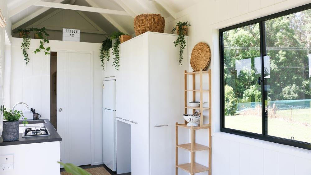 Pantry/Storage - Coolum 7.2 by Aussie Tiny Houses
