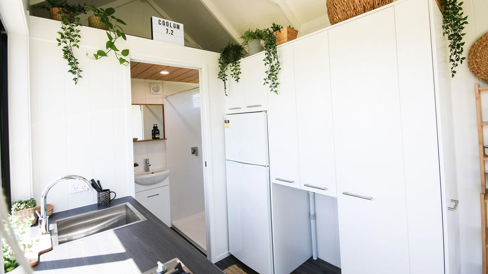 Kitchen Storage - Coolum 7.2 by Aussie Tiny Houses