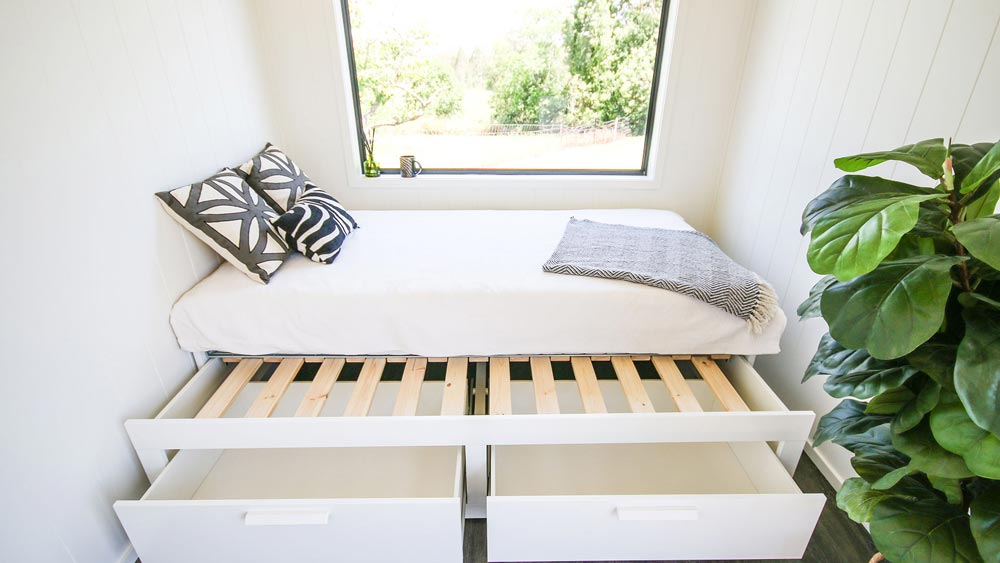 Pull-Out Bed - Coolum 7.2 by Aussie Tiny Houses