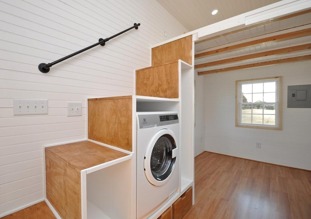 Storage Stairs - Croft by Tiny House Building Company