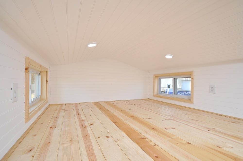 Master Bedroom Loft - Croft by Tiny House Building Company