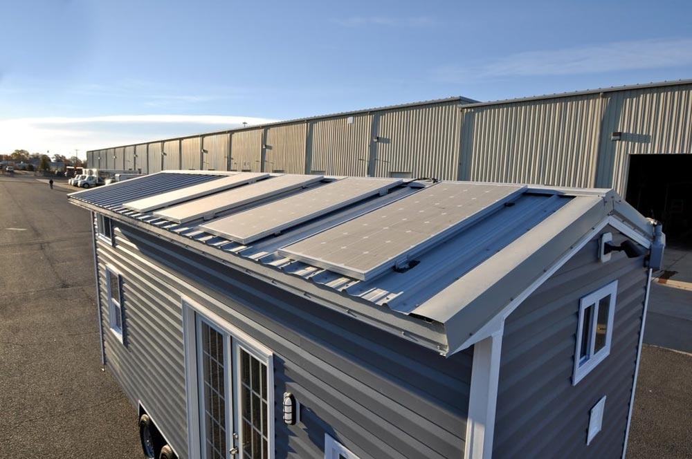 2000-Watt Solar Panel System - Croft by Tiny House Building Company