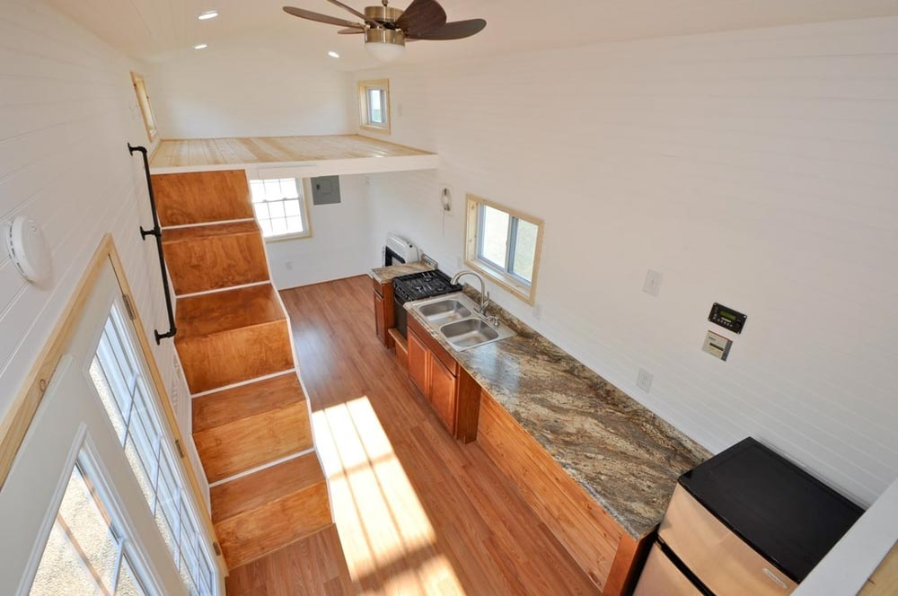 Interior View - Croft by Tiny House Building Company